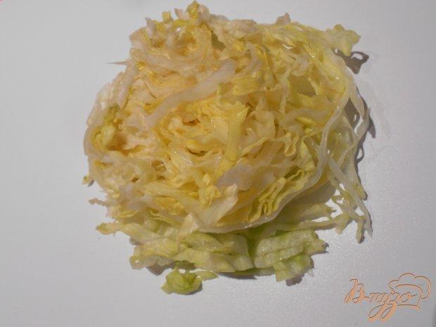 Рецепт Салат из белокачанной капусты, свеклы и апельсина