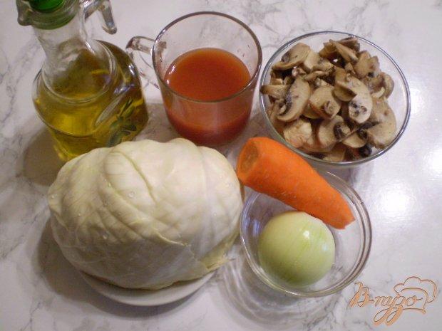 Рецепт Пирожки с жареными грибами и капустой