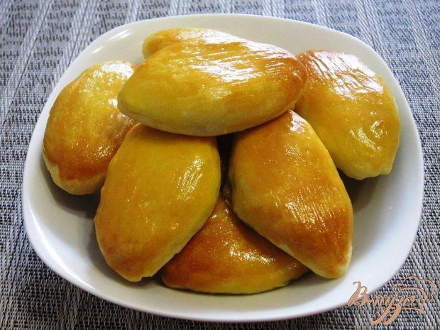 Пирожки в духовке с картофелем и грибами