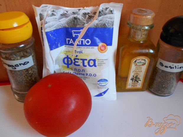 Рецепт Сыр фета саганаки