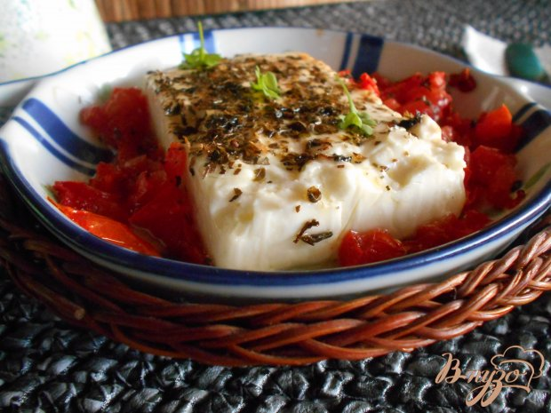 Сыр фета саганаки