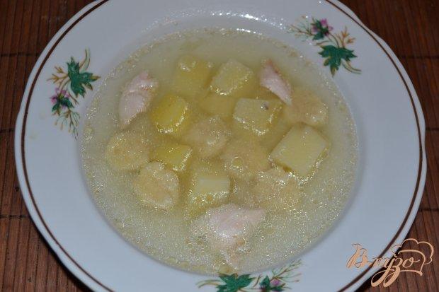 Детский суп с клецками