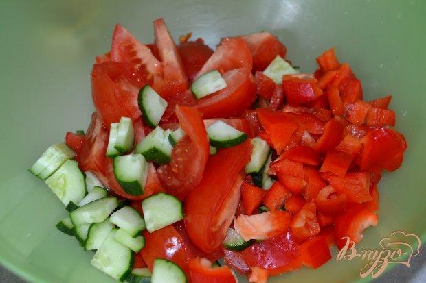 Летний салат со сметаной