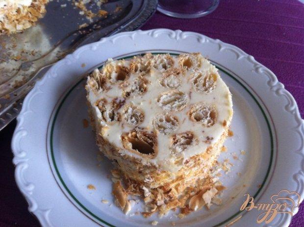 """Торт """"Наполеон-полено"""""""