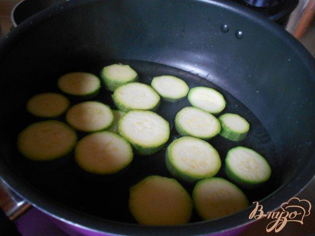 Кабачки в сливочном соусе с зеленью