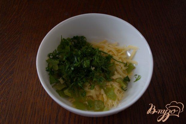Рецепт Салат без мяса с перцем и сыром