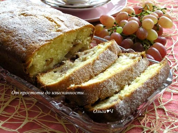 фото рецепта: Виноградный пирог от Джейми Оливера