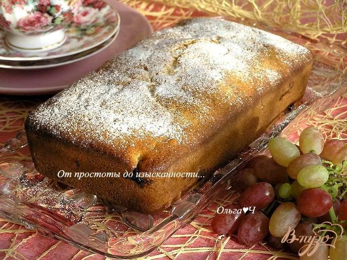 Фото приготовление рецепта: Виноградный пирог от Джейми Оливера шаг №6