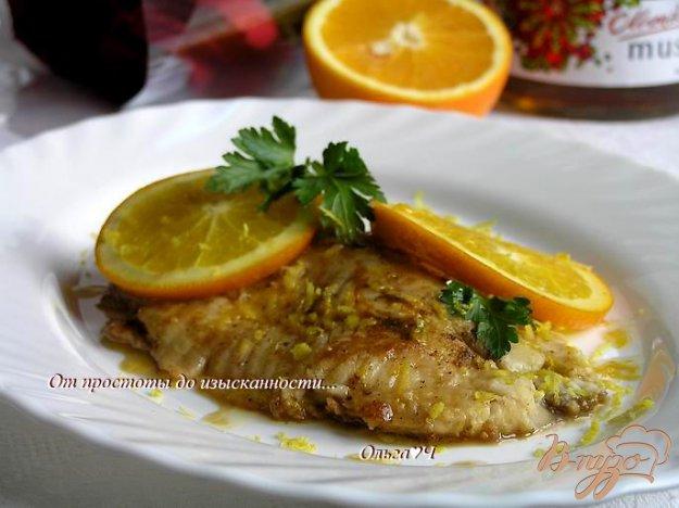 фото рецепта: Тилапия в цитрусовом соусе