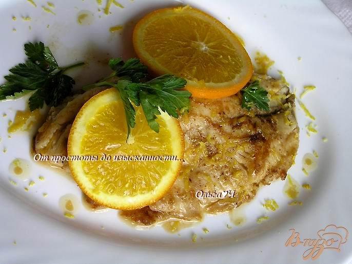 Фото приготовление рецепта: Тилапия в цитрусовом соусе шаг №4