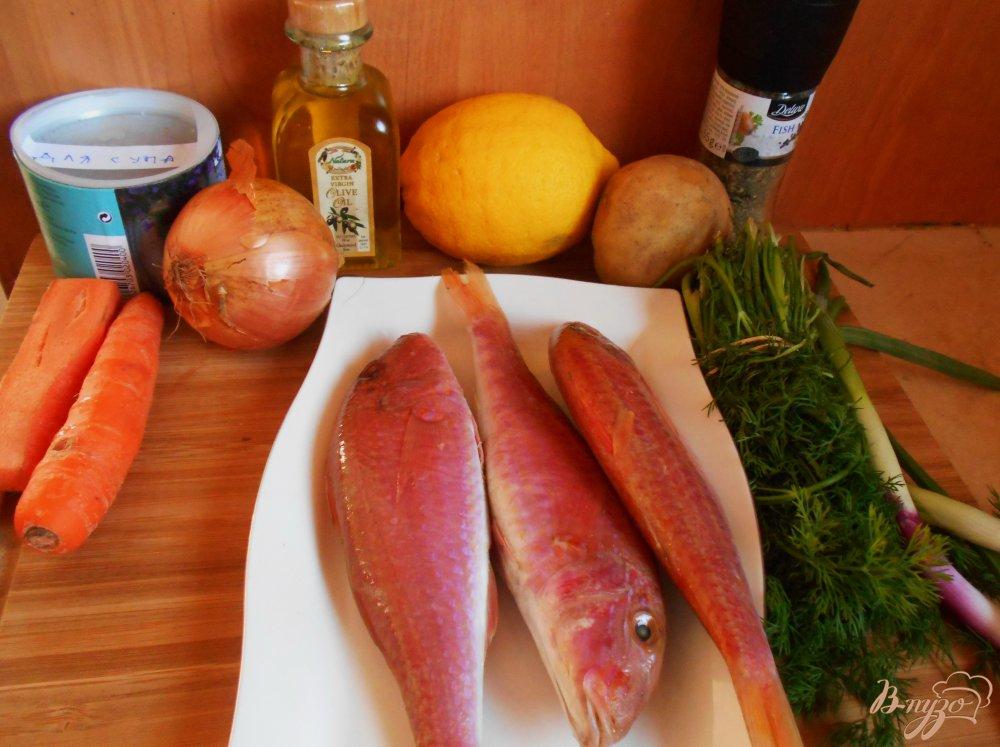Фото приготовление рецепта: Рыбный суп из барабульки шаг №1
