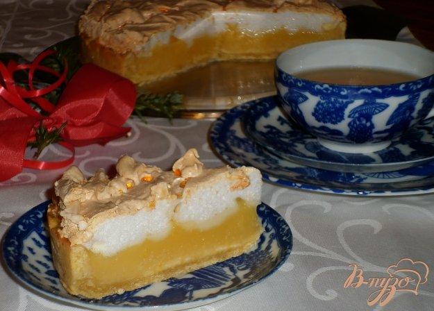 фото рецепта: Лимонный торт (Torta meringata al limone)