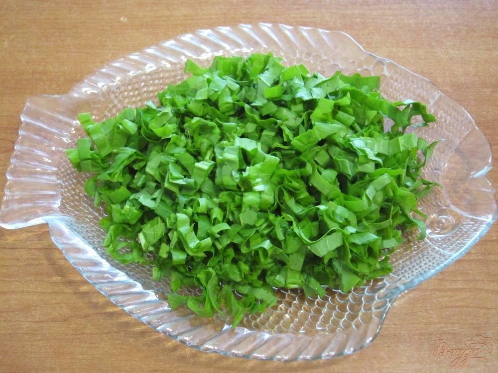 Фото приготовление рецепта: Зеленые щи шаг №8