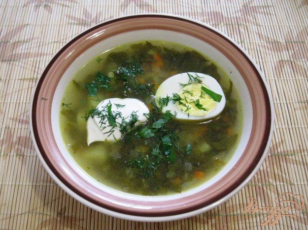 фото рецепта: Зеленые щи