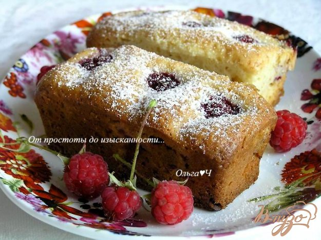 Кексы с малиной рецепт с фото