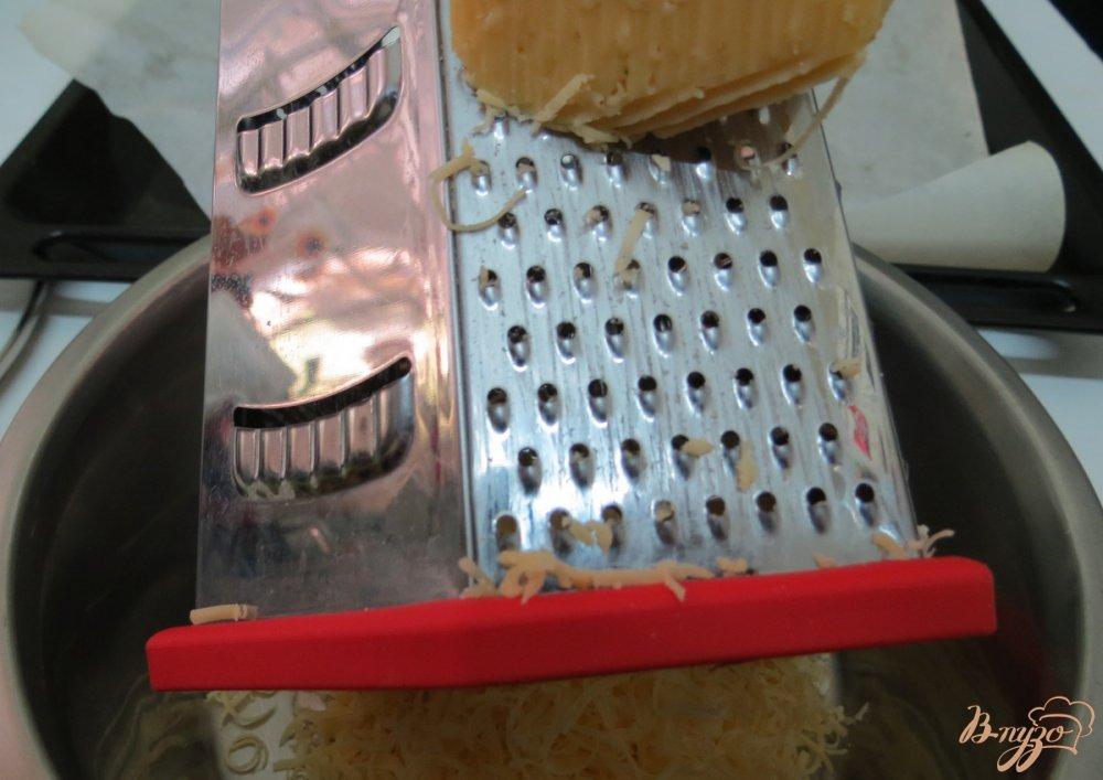 Фото приготовление рецепта: Рисовый рулет с грибами шаг №6