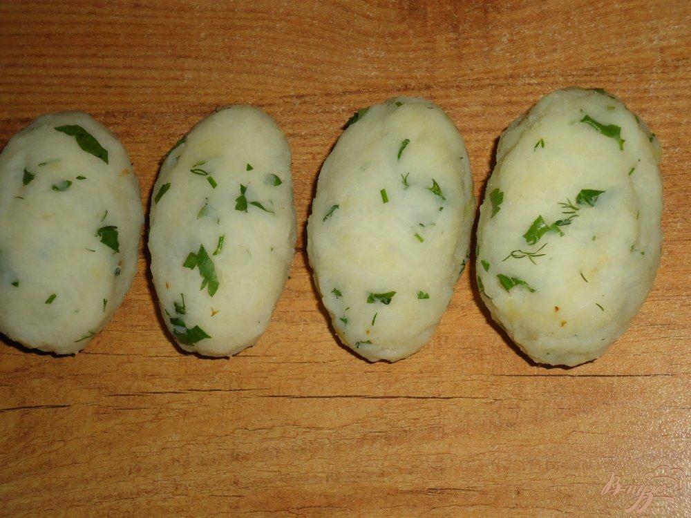 Фото приготовление рецепта: Котлеты рисово-картофельные с морковью шаг №5