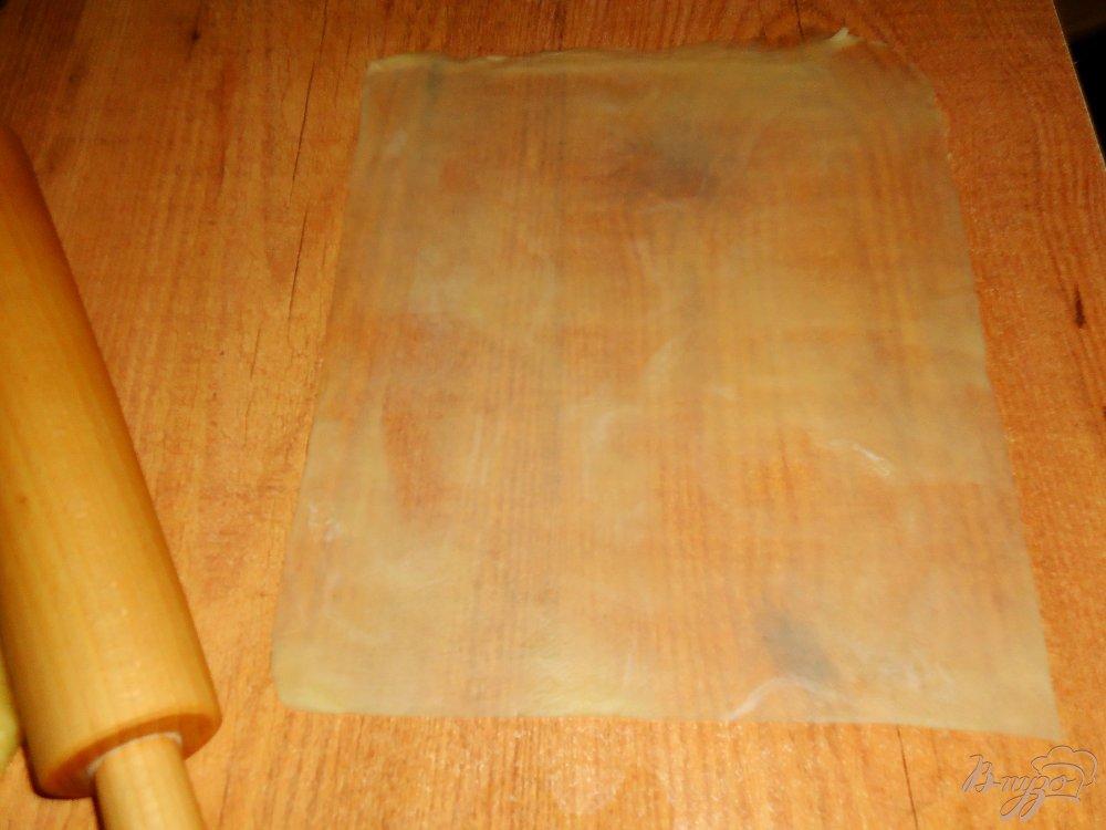 Фото приготовление рецепта: Постные хрустящие пирожки с гречкой и грибами шаг №5