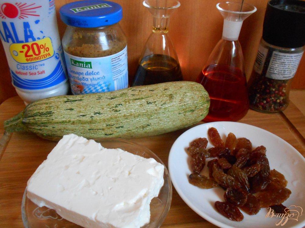 Фото приготовление рецепта: Салат из цуккини шаг №1