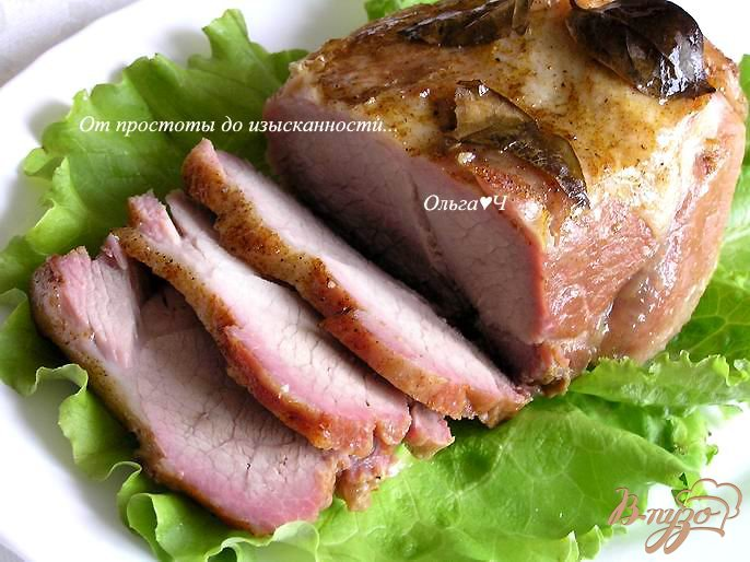 Пряный свиной карбонад