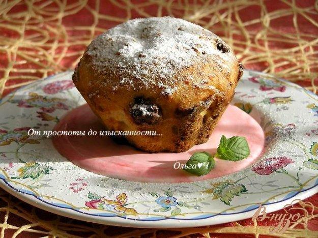 фото рецепта: Творожные кексы с земляникой