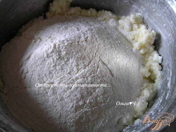 Фото приготовление рецепта: Творожные кексы с земляникой шаг №1