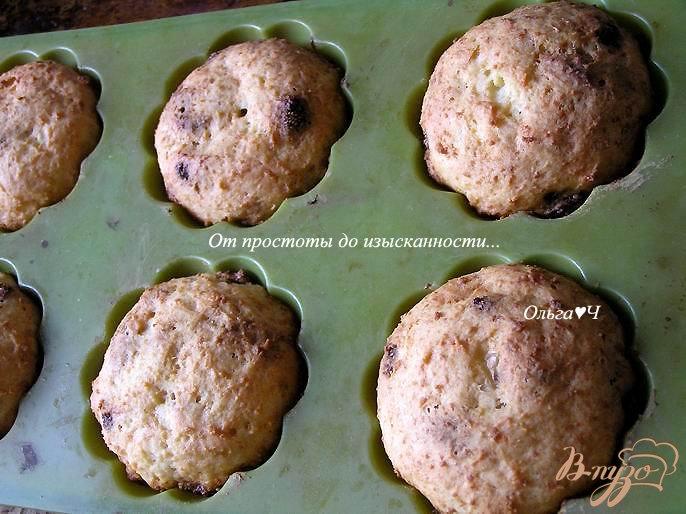 Фото приготовление рецепта: Творожные кексы с земляникой шаг №4