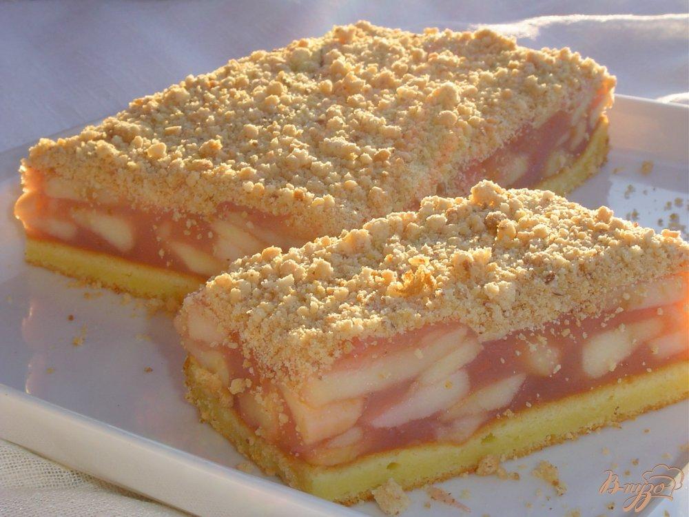 Фото приготовление рецепта: Венский  яблочный пирог шаг №9