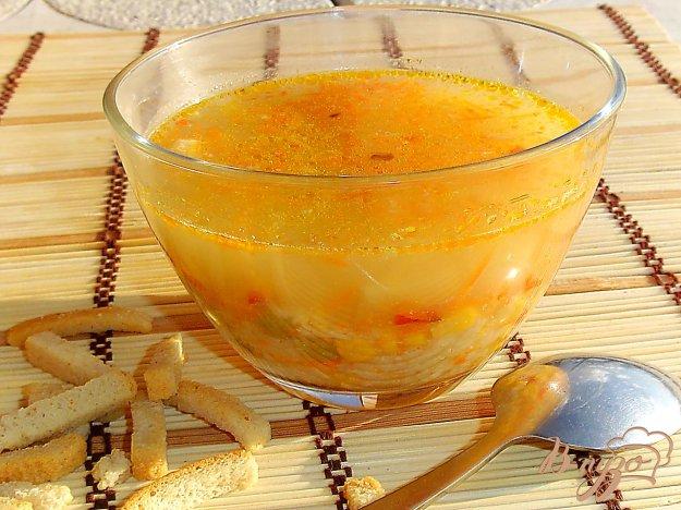 фото рецепта: Постный рисовый суп с овощами