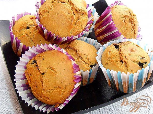фото рецепта: Кексы с голубикой