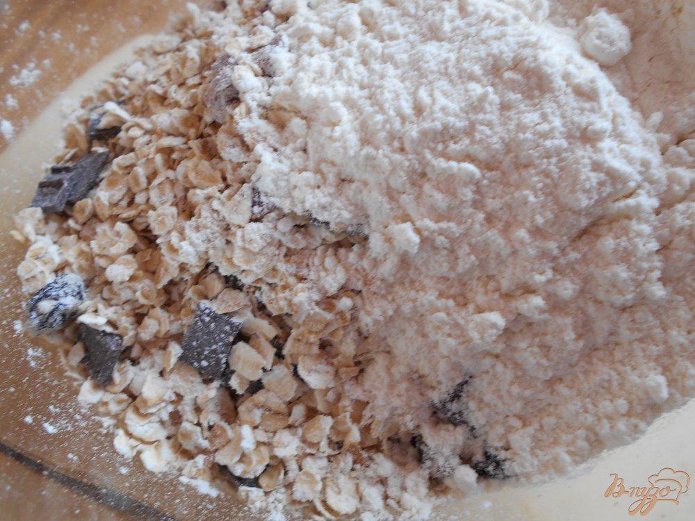 Фото приготовление рецепта: Бананово- овсяное печенье с маком шаг №2