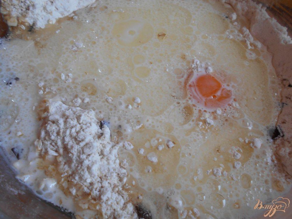 Фото приготовление рецепта: Бананово- овсяное печенье с маком шаг №3