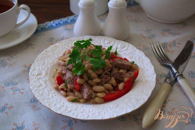Салат з квасолею та яловичиною. Як приготувати з фото
