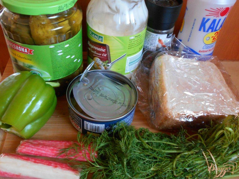 Фото приготовление рецепта: Смёргасторте с тунцом шаг №1
