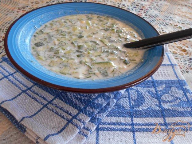 фото рецепта: Окрошка на йогурте и лимонном соке
