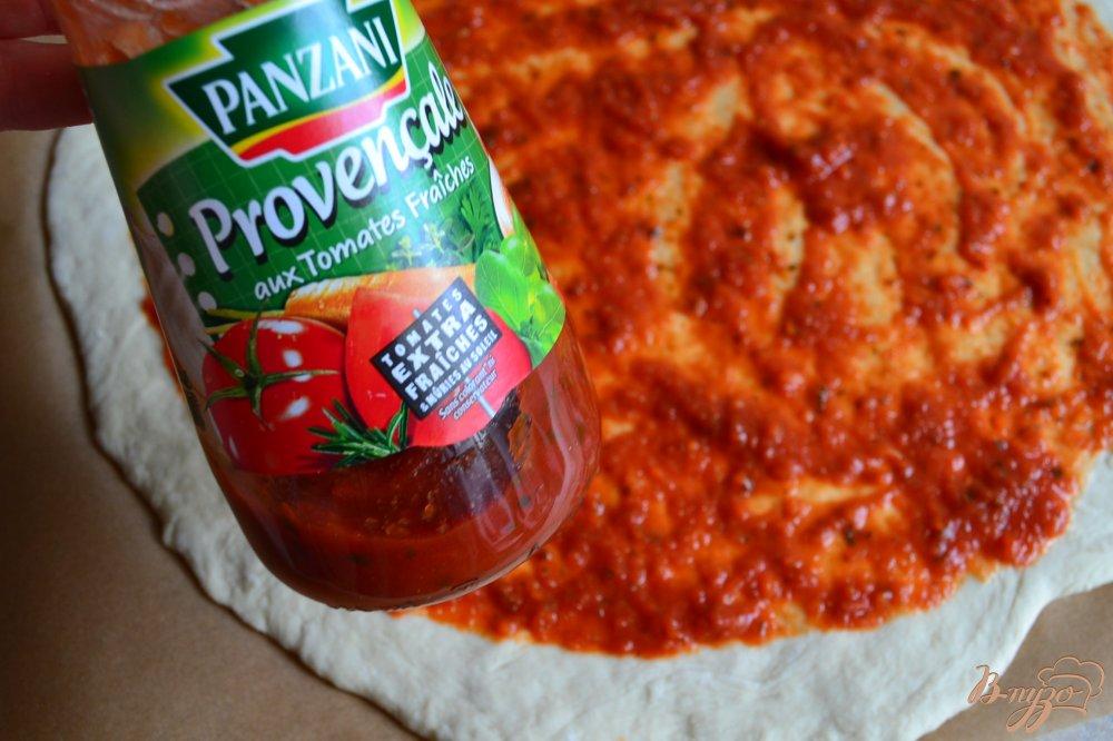 Фото приготовление рецепта: Пицца с нутом и сладким перцем шаг №1