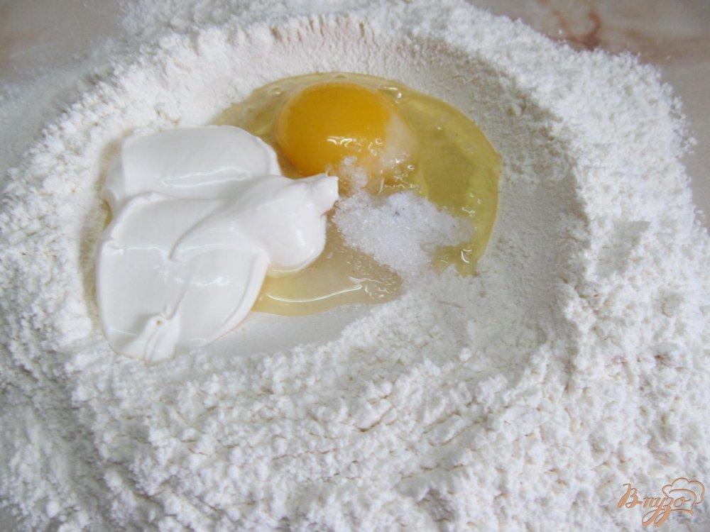 Фото приготовление рецепта: Кутабы с фаршем шаг №2