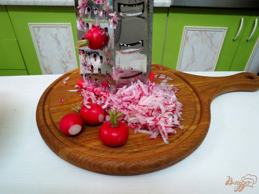 Фото приготовление рецепта: Салат с острой заправкой. шаг №2
