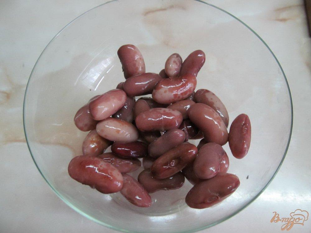 рецепт салата фасоль крабовые сыр