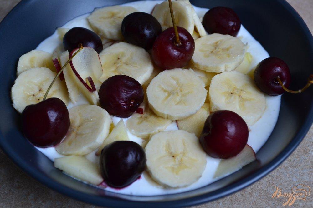 Фото приготовление рецепта: Полезный завтрак шаг №3