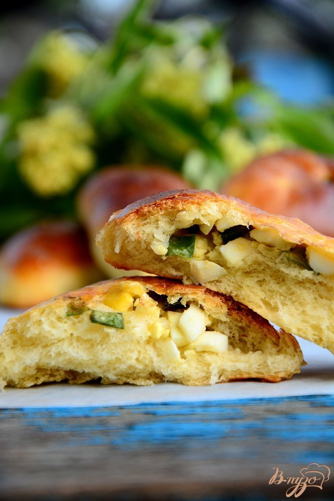 Фото приготовление рецепта: Пирожки на тесте без яиц шаг №12