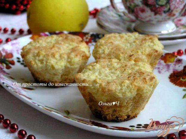 фото рецепта: Открытые творожные кексы