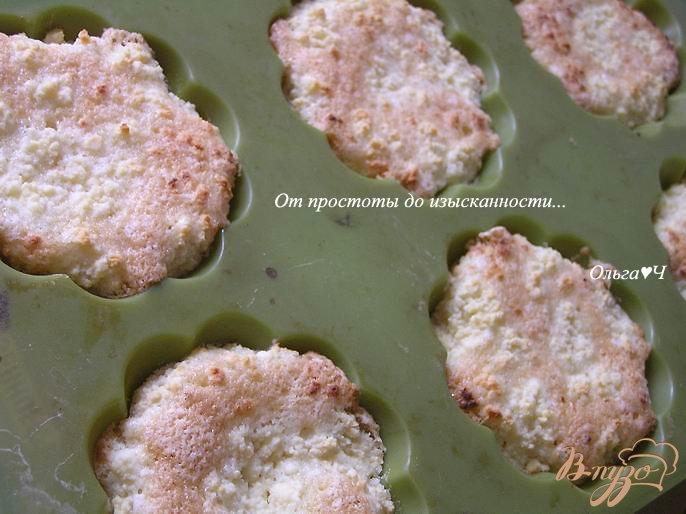 Открытые творожные кексы
