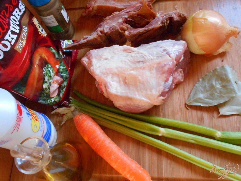 Фото приготовление рецепта: Голландский гороховый суп шаг №1