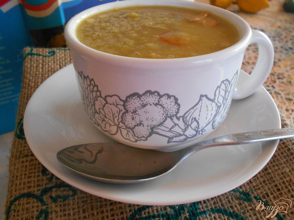 Фото приготовление рецепта: Голландский гороховый суп шаг №9