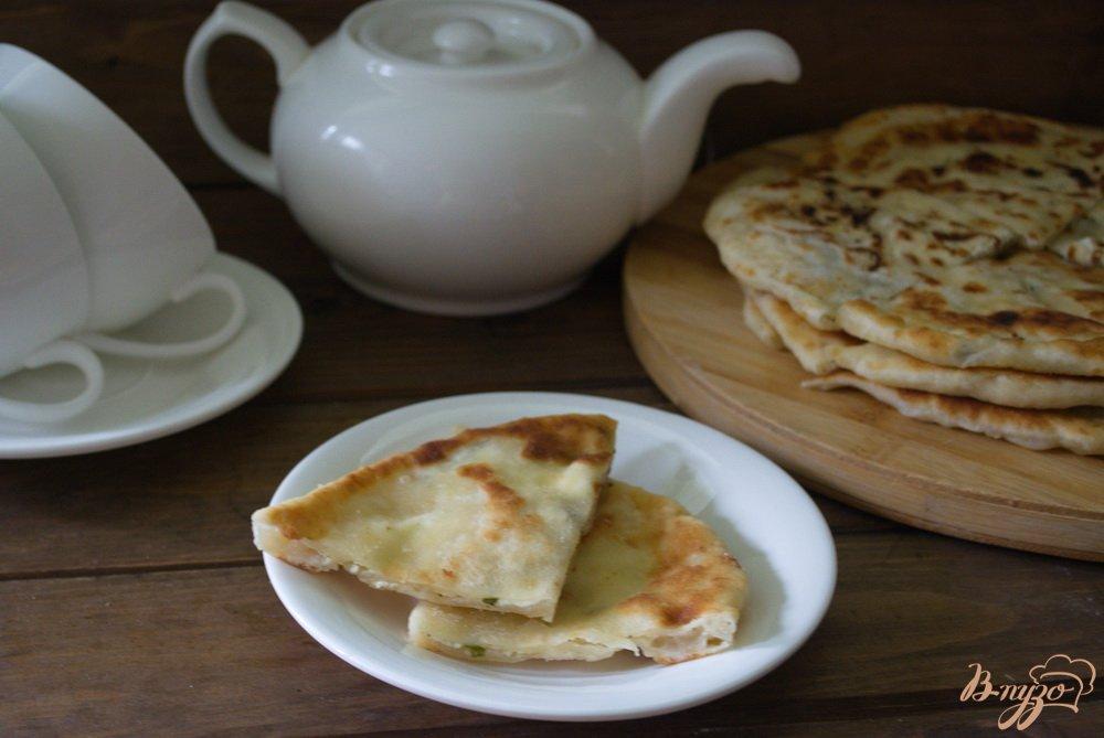 Фото приготовление рецепта: Кавказские хичины шаг №9
