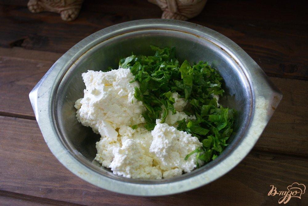 Фото приготовление рецепта: Кавказские хичины шаг №4