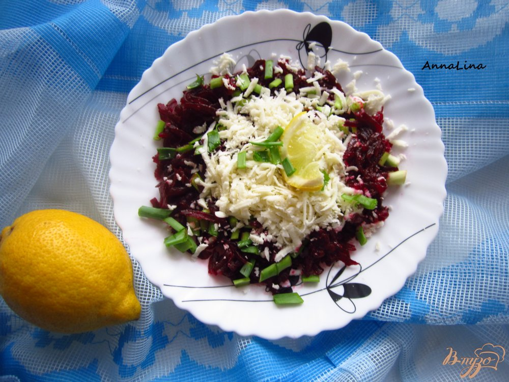 Салат с свеклой