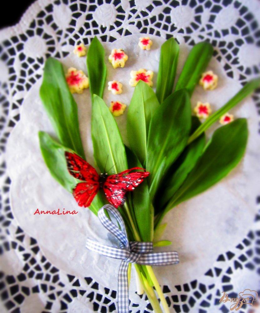 Фото приготовление рецепта: Сырные цветы шаг №7