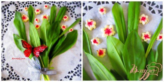 фото рецепта: Сырные цветы